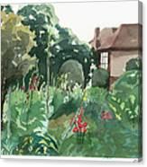 Shottery 20x16 Canvas Print