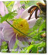 Show Your Inner Beauty Canvas Print