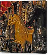 Showcase Of Royal Horses Canvas Print