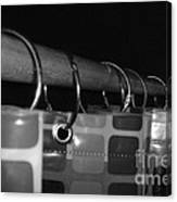 Shower Curtin Rings.... Canvas Print