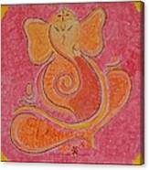 Shree Ganesh Canvas Print