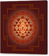 Shree Yantra Canvas Print