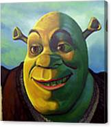 Shrek Canvas Print