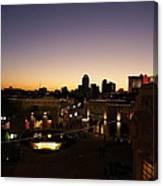 Shreveport Skyline Canvas Print