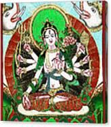 Shri Ashtabhuja Mata Canvas Print