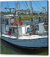 Shrimp Boat - Southern Catch Canvas Print