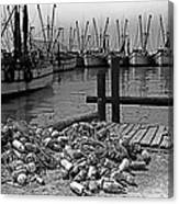 Shrimp Boats In Key West Canvas Print