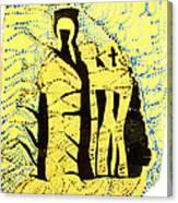 Shroud Of Jesus Canvas Print