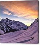 Shuksan Morning Skies Canvas Print