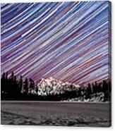 Shuksan Past Midnight Canvas Print