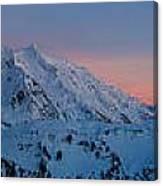 Shuksan Sunset Panorama Canvas Print