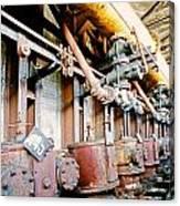 Shutdown Old Coking Plant Canvas Print