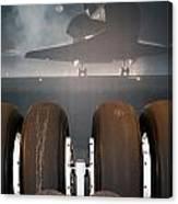 Shuttle Tires Canvas Print