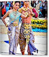 Siam Culture Dance Canvas Print