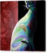 Siamese Shadow 2 Canvas Print