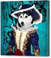 Siberian Husky Art Canvas Print - Baroness Canvas Print
