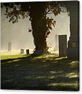 Sibley Cemetery Canvas Print