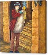 Sicilian Ciaramella Canvas Print