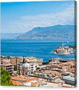 Sicily And Italy Canvas Print