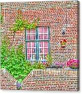 Side Garden Canvas Print