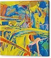 Side Kick Canvas Print