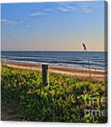 Side Of The Road In Flagler Canvas Print