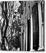 Sidewalk Scene-charleston Canvas Print