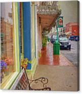 Sidewalk Shot Weston Missouri Canvas Print
