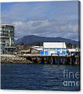 Sidney Harbour On Vancouver Island Canvas Print