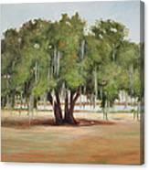 Sidney Lanier's Muse Canvas Print