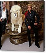 Siegfried And Roy Canvas Print