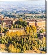 Siena Countryside Canvas Print