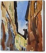 Sienna Street Canvas Print