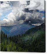 Sierra Nevada Lighting Strike Canvas Print