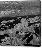 Sierra Nevada Shadows Canvas Print