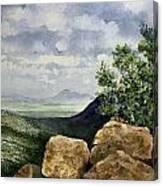Sierra San Jose From Montezuma Pass Canvas Print