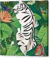 Siesta Del Tigre - Limited Edition 2 Of 15 Canvas Print