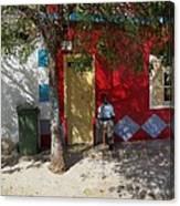 Siesta In Boa Vista Canvas Print