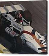 Siffert At Speed Canvas Print