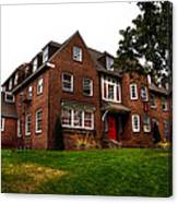 Sigma Phi Epsilon Fraternity On The Wsu Campus Canvas Print
