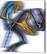 Sigma Steps Canvas Print
