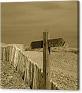 Sign Post To Nowhere 2 Canvas Print