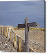 Sign Post To Nowhere Canvas Print