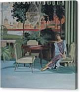 Signora Italiano Canvas Print