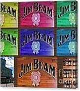 Signs Of Jim Beam Canvas Print