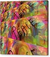 Signs Of Peace X Canvas Print