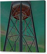 Sikeston Water Tower IIi Canvas Print