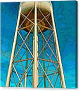 Sikeston Water Tower Iv Canvas Print