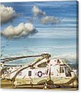 Sikorsky Sh-60b Seahawk Helicopter Canvas Print