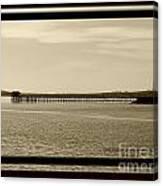 Silance Bridge Canvas Print